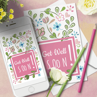 FREE GET WELL SOON CARD