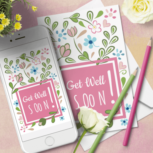 GET WELL SOON FREE CARD