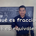 Video: Fracciones y fracciones equivalentes