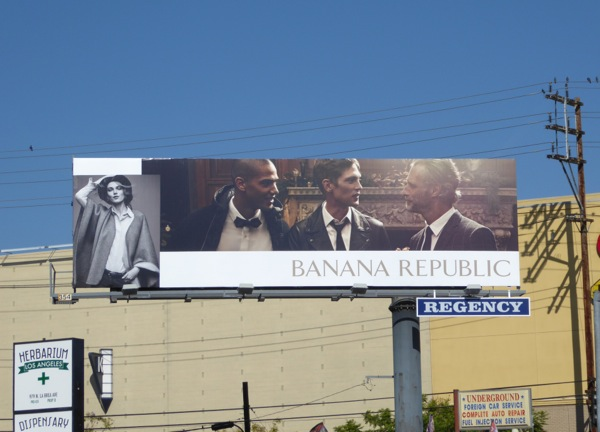 Banana Republic FW 2016 billboard
