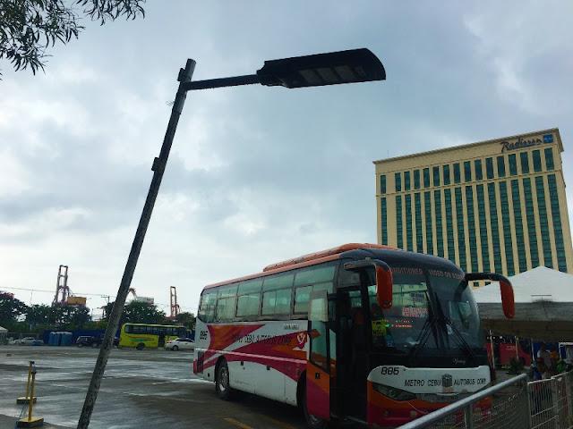 Cebu North Bus Terminal at SM City Cebu Parking Grounds