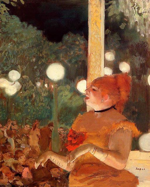 Эдгар Дега - Песня собаки (1876-1877)