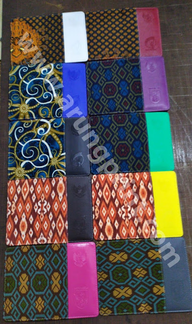 agenda cover batik