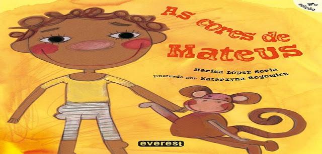 Baixe o Livro 'As cores de Mateus' -  Sequência Didática