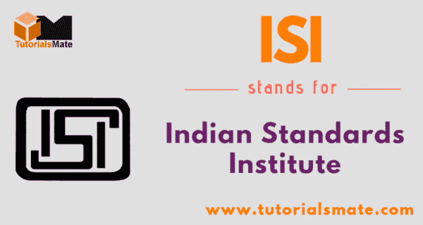 ISI Full Form