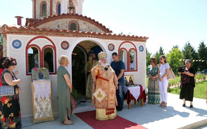 Εγκαινιάσθηκε το παρεκκλήσιο του Οσίου Παϊσίου στη Νέα Βύσσα Ορεστιάδας