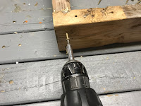 Attaching everything with deck screws