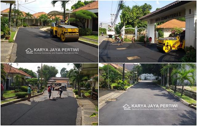 Jasa pengaspalan - kontraktor Aspal Jalan Jakarta Bogor depok bekasi tangerang banten jawa barat bandung subang