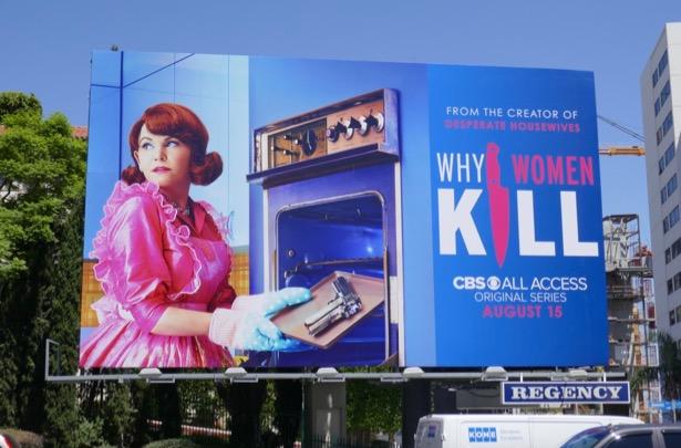 Why Women Kill series premiere billboard