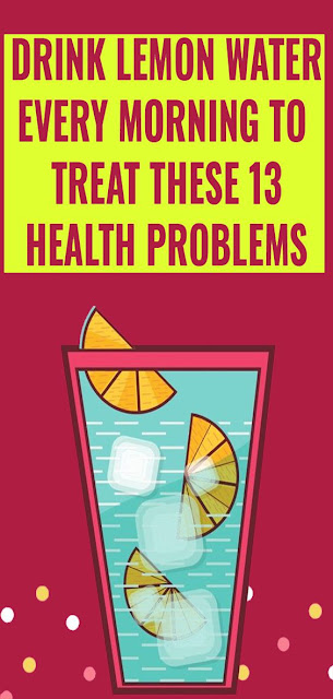 Lemon Water Can Solve 13 Of These Problems That You Don't Need Pills For