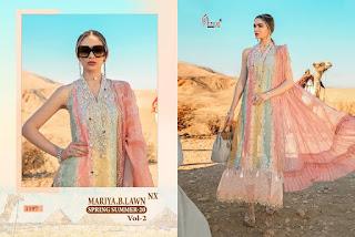 Shree fab Mariya B lawn Spring Summer 20 vol 2 Nx pakistani Suits