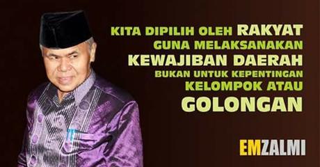 Emzalmi-Desri untuk Semua Warga Kota Padang
