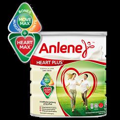 anlene heart plus adult milk formula
