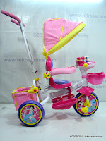 3 GoldBaby Pororo Winch Baby Tricycle in Pink