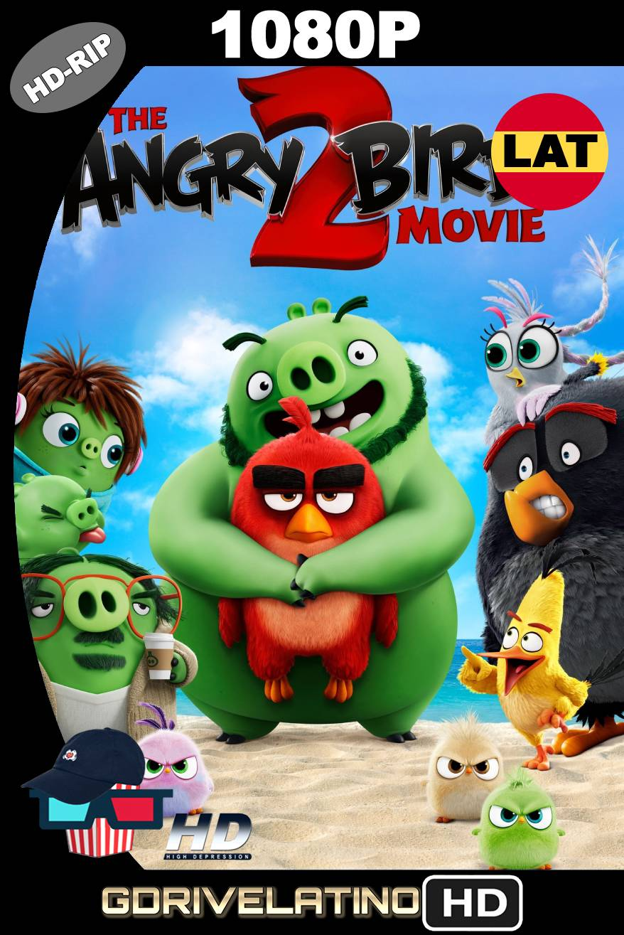 Angry Birds 2: La película (2019) HDRIP 1080P Latino-Ingles MKV