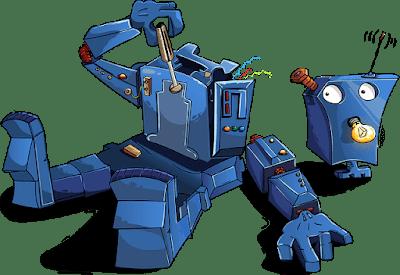 Future Scope of robotics - A robot try to self fix