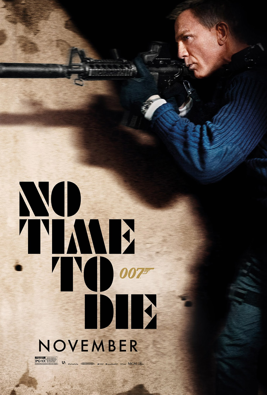 NO TIME TO DIE POSTER (#1 OF 12) - OKAY BHARGAV