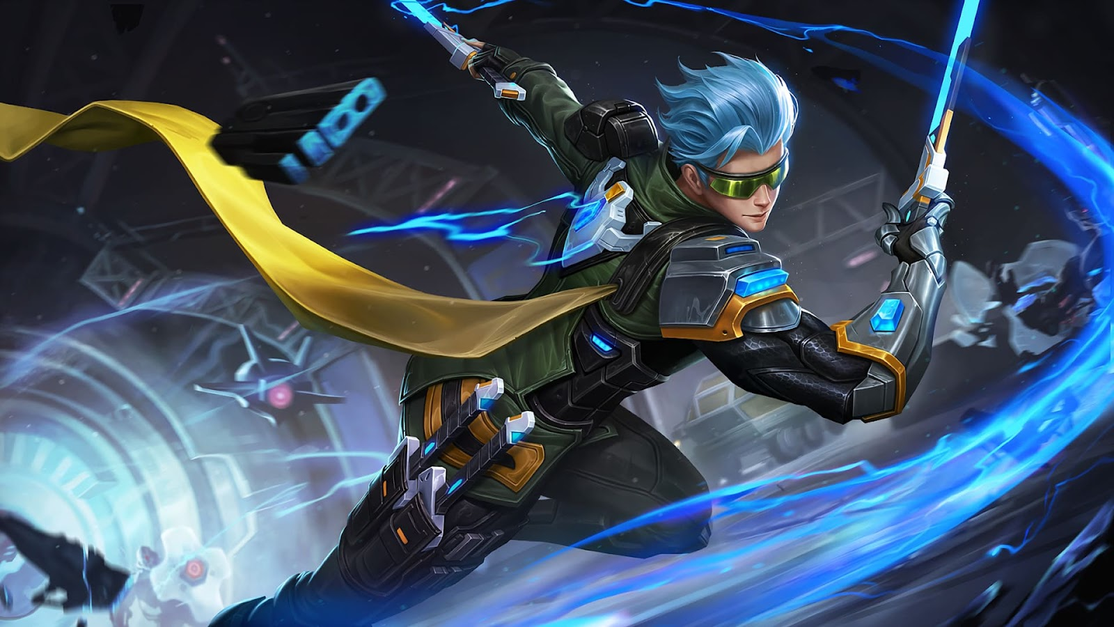 Wallpaper Gusion Cyber Ops Skin Mobile Legends HD for PC