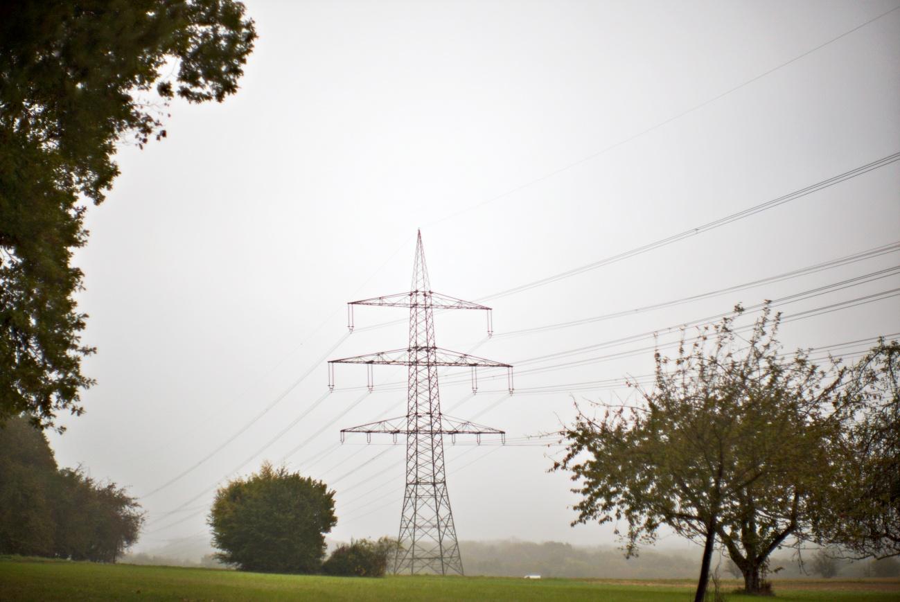 Der Strom kommt aus dem Nichts, ein Beweisfoto