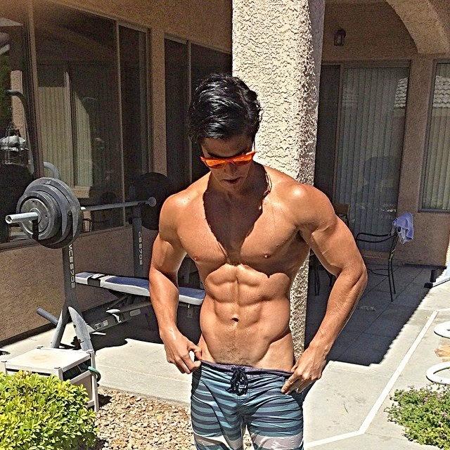 jeff langan shirtless