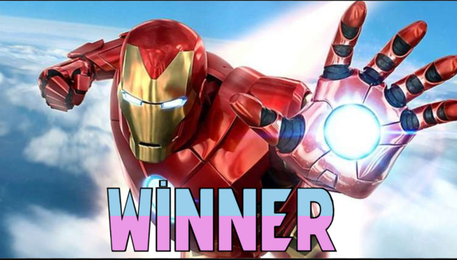 Winner of SpiderMan vs IronMan