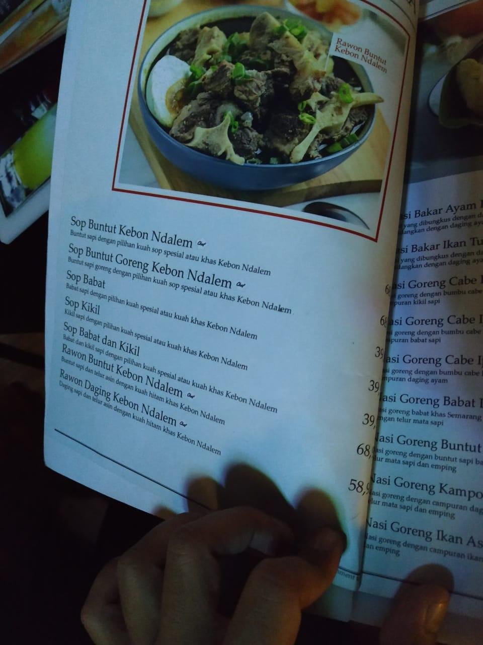 hanya sebuah omong kosong: Kebon Ndalem Coffee & Eatery