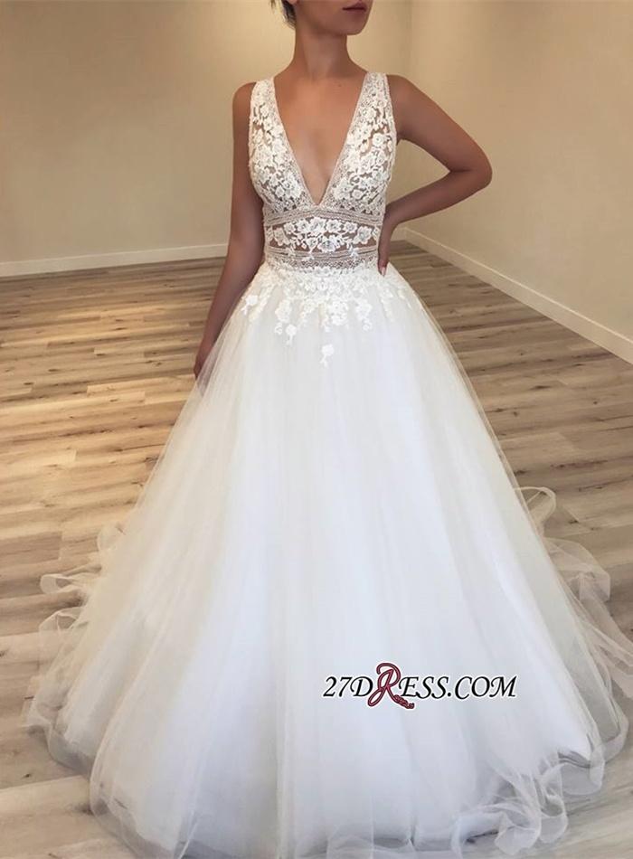 https://www.27dress.com/p/elegant-deep-v-neck-sleeveless-tulle-lace-appliques-bridal-gowns-109261.html