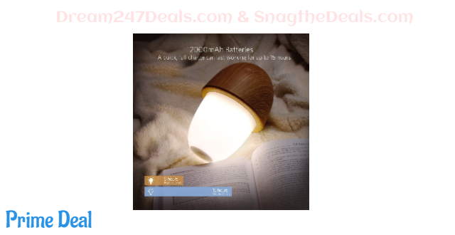 40% off Beside Lamp Touch Sensor Adjustable LED Night Light