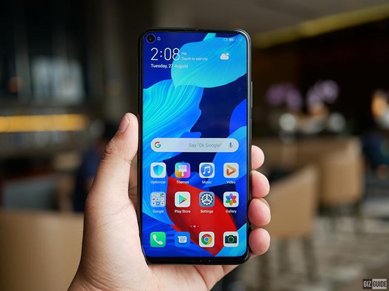 Huawei Nova 5T screen