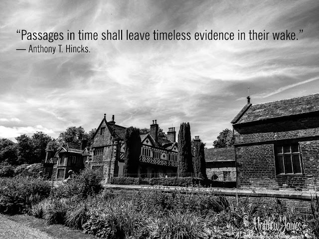 """Passages in time shall leave timeless evidence in their wake."" ― Anthony T. Hincks."