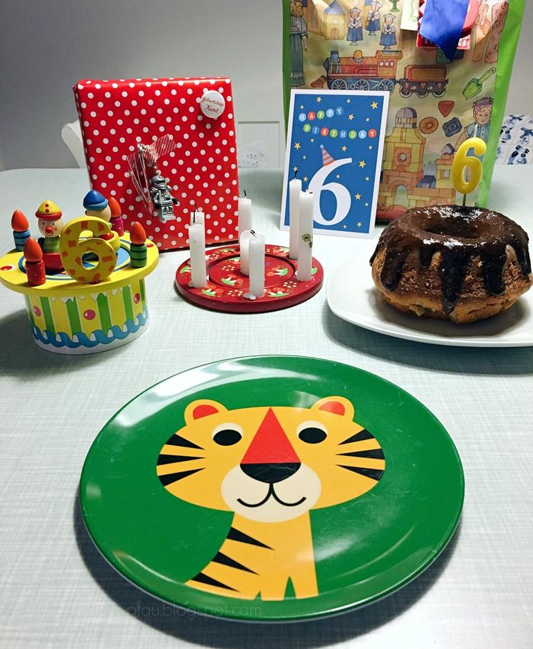 6. Kindergeburtstag, Brief an meinen Sohn, sechster Geburtstag, OMM Design