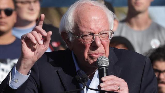 "Bernie Sanders: Gobernantes saudíes son ""asesinos"" y ""matones"""