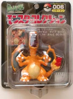 Charizard figure Tomy Monster Collection black package series