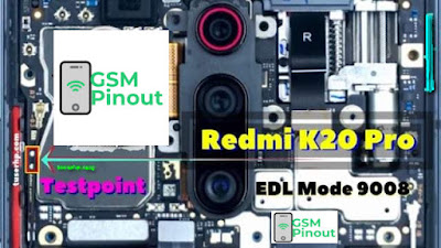 Xiaomi Redmi K20Pro edl-testpoint Programming Flashing And Remove FRP Lock