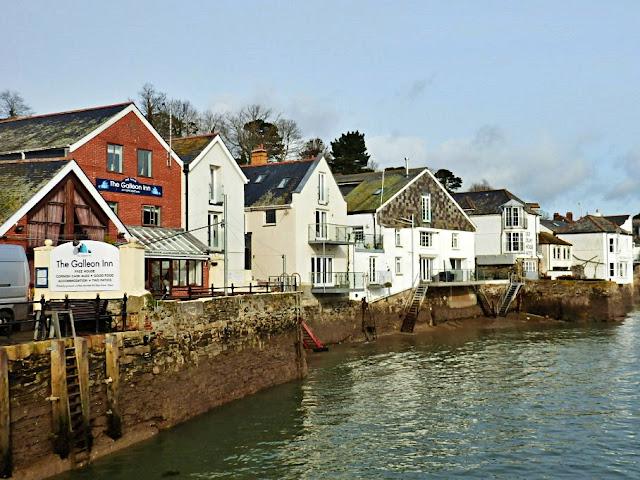 Fowey, Cornwall, Quay