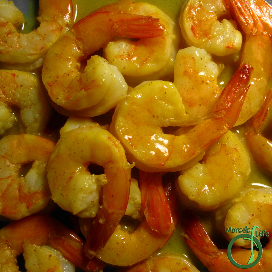 Morsels of Life - Honey Mustard Shrimp - A light, yet flavorful shrimp with honey, white wine, and just a hint of mustard.