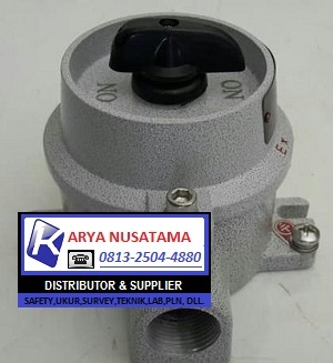 Jual BZM10 Selector ON-OFF  Explosion Proof di Banten