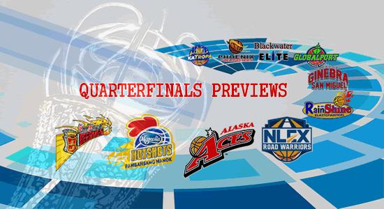 List of Quarterfinals Brackets Previews 2018 PBA Philippine Cup