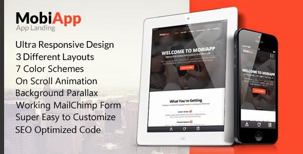 Premium Mobile App Landing Page