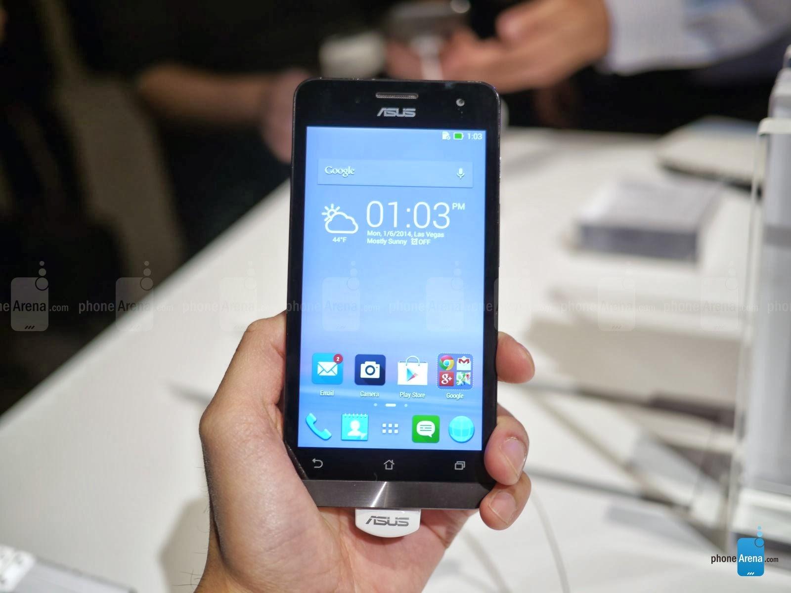 Spesifikasi dan Harga Asus Zenfone 5 Terbaru 2014