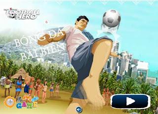 Chơi game bóng đá bãi biển thú vị nhất