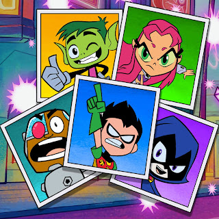 3… 2… 1… Action! Teen Titans Go!