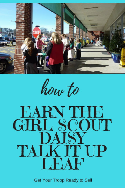 How to Earn the Girl Scout Daisy Talk It Up Leaf
