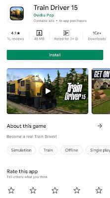 baccho ke liye train wala game