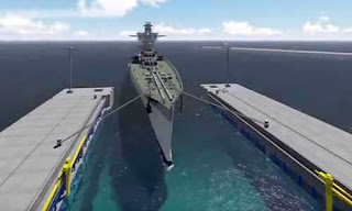Aircraft Carrier Dry Dock
