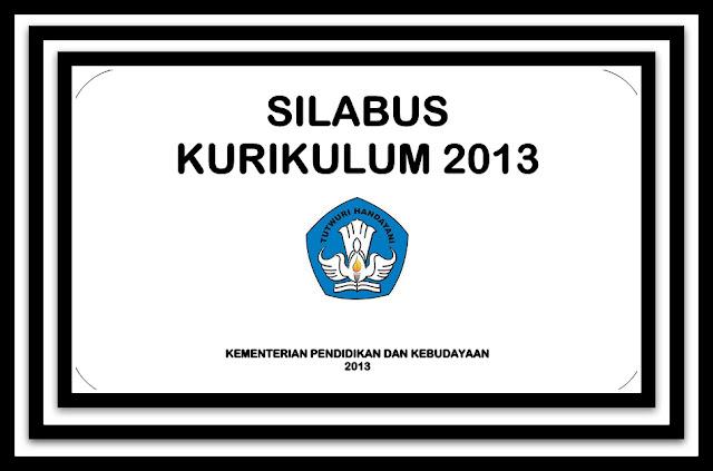 Download Silabus SD Kelas 1-6 Pada Kurikulum 2013