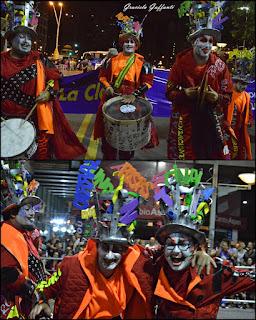 Desfile Inaugural del Carnaval. Uruguay. 2017 Murga La Clave