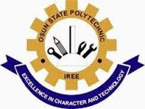 Osun State Poly, Iree HND Acceptance Fee 2017 | Check It Here