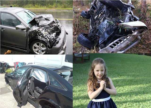 Brave Little Girl Saves Her Two Baby Brothers From A Car That Rolled Off The Road!