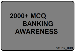 BANKING AWARENESS MCQ BOOK